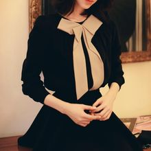 Jolly Club - Bow-Accent Blouse