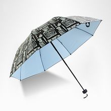 Petrichor - Print Compact Umbrella