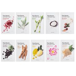 Missha - Pure Source Cell Sheet Mask (Red Ginseng)