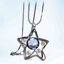 Best Jewellery - Rhinestone Star Pendant Necklace