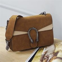 Picapica - Chain-Strap Horseshoe Shoulder Bag