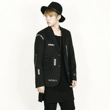 Rememberclick - Lettering Two-Button Jacket