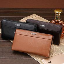 Filio - Faux Leather Long Wallet