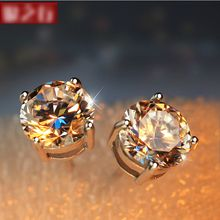 Sylvion - Rhinestone Single Earring