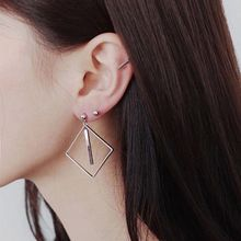 Love Generation - Sterling Silver Geometric Earrings
