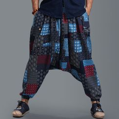 Sparrow Farm - Patchwork Harem Pants