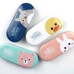 YUNO - Printed Iron Glasses Case