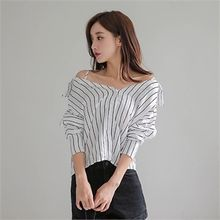 Babi n Pumkin - Strappy Striped Blouse