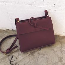 YUKISHU - Faux Leather Crossbody Bag