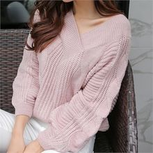 Babi n Pumkin - V-Neck Cable Knit Top