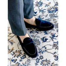 FROMBEGINNING - Velvet Loafers