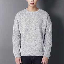 MITOSHOP - Colored Brushed-Fleece Lined Sweatshirt