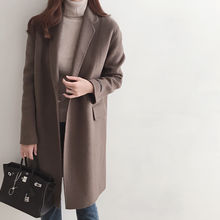 DAILY LOOK - Hidden-Button Wool Blend Coat