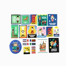 Full House - Label Suitcase Stickers 28pcs