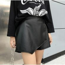 BZY - Faux Leather Skort