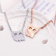Claudette - Owl Necklace