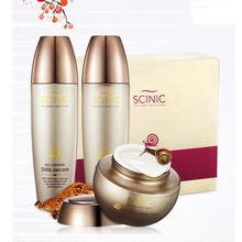 SCINIC - Red Ginseng Snail Set : Skin 150ml + Emulsion 150ml + Cream 50ml
