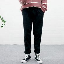 Seoul Homme - Washed Cotton Tapered Pants