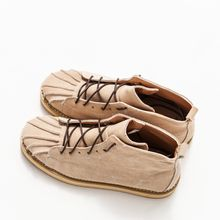 Ashen - Genuine-Suede Lace-Up Casual Shoes