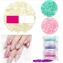 GEL NAILS - 3D Nail Art Shell Beads