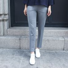 Envy Look - Flat-Front Straight-Cut Pants