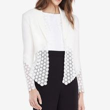 Dream a Dream - Lace Hem Jacket