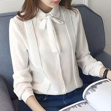 Angel Love - Tie Neck Chiffon Shirt