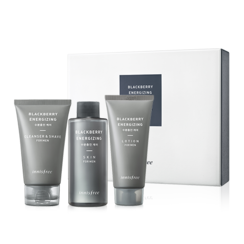 悦诗风吟 - Blackberry Energizing Skin Care Set: Skin 150ml + Lotion 100ml + Cleanser 100ml