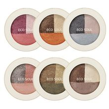 The Saem - Eco Soul Triple Dome Shadow