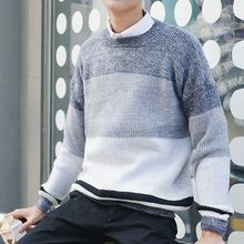ZZP HOMME - Color Block Sweater