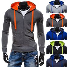 Blueforce - Color Block Zip Hoodie