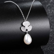 Zundiao - Sterling Silver Real Pearl Necklace