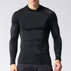MaxBlue - Long-Sleeve Sport T-Shirt