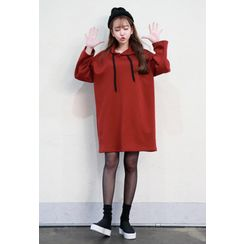 Dalkong - Hooded Pullover Dress