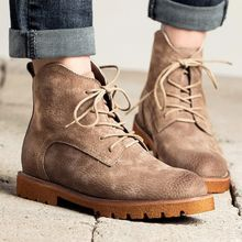 MIAOLV - Lace Up Ankle Boots