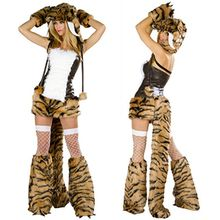 Cosgirl - Tiger Girl Party Costume