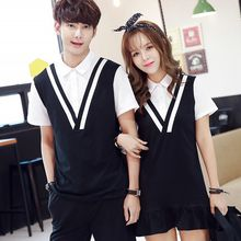 Tabula Rasa - Couple Matching V-neck Vest / Dress