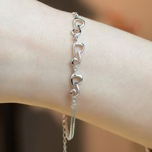 Kitty Kiss - 925 Sterling Silver Bracelet