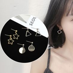 HEDGY - Geometric Drop Earrings