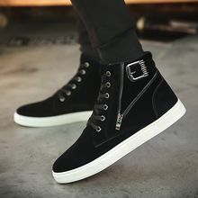 MARTUCCI - High-Top Zip Sneakers