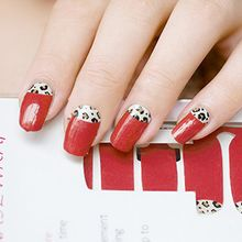 GEL NAILS - Leopard Print Nail Wrap