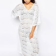 Sunset Hours - Lace Cover-Up Maxi Dress