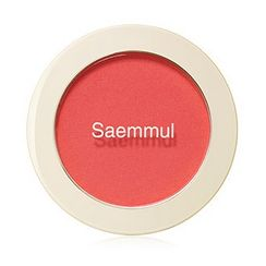 The Saem - Saemmul Single Blusher (#RD01 Dragon Red)