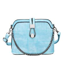 LineShow - Faux Leather Crossbody Bag
