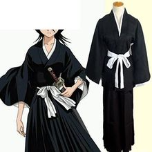POP Wind - Bleach Rukia Kuchiki Cosplay Costume