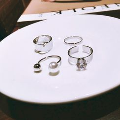 Ticoo - Set of 4: Ring