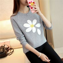 Weaverbird - Flower Embroidered Sweater