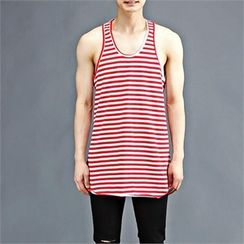 THE COVER - Sleeveless Stripe Top