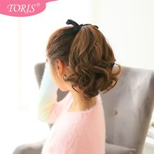 Toris - Short Ponytail - Wavy