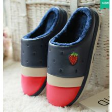 Rivari - Strawberry Embroidered Slippers